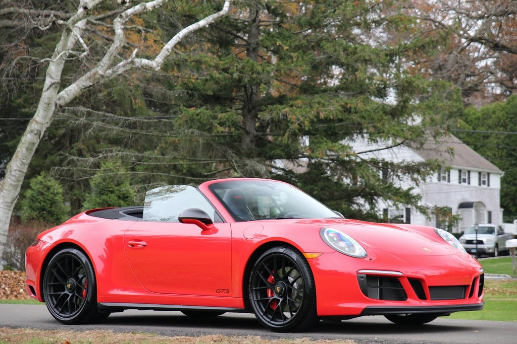 New 2018 Porsche 911 Carrera 4 GTS