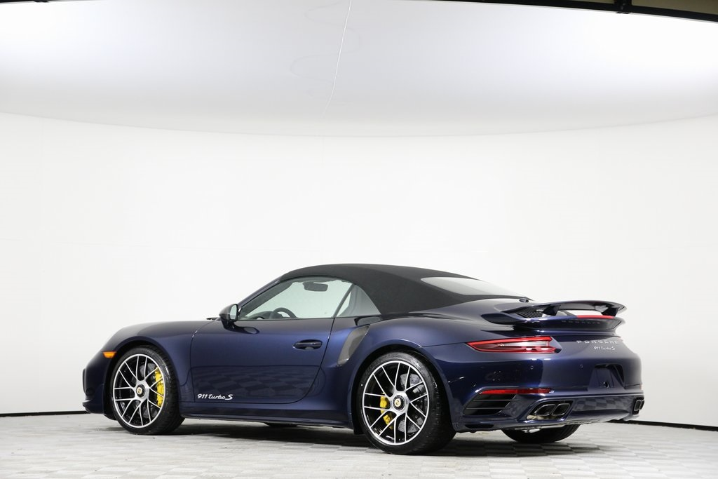 New 2019 Porsche 911 Turbo S